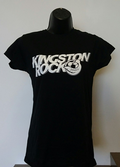 Women's Kingston Rock T-Shirt - Black - Various Sizes